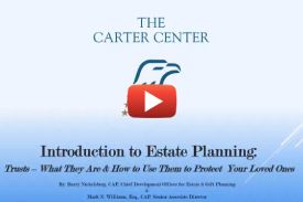 Introduction to Estate Planning: Trusts